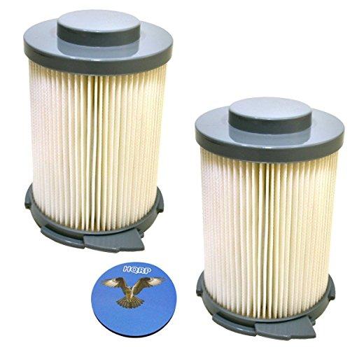 arer Primär-HEPA-Filter für Hoover 59134033 Ersatzteil; S3755 / S3765 WindTunnel Bagless Sled Vacuum + HQRP Untersetzer ()