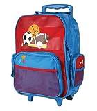 Stephen Joseph 73091 - Kindertrolley Sport blau-rot 50x34x18 cm