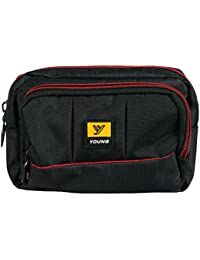 Mens Waist Pouch With Waist Belt - Small Messenger Bags Nylon Mobile Phone Pouch Travel Bag
