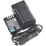 DSTE 2x DMW-BLF19E Battery + DC141 Travel and Car Charger Adapter for Panasonic Lumix DMC-GH3 GH3A GH3AGK GH3GK GH3H GH3HGK GH4 GH4H Camera