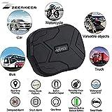 ZEERKEER GPS Tracker Monitoraggio in Tempo Reale Posizionamento Doppia modalità gssm/GPS Dispositivo di localizzazione Location di Auto, Un Camion, Moto congelatore, Barca ECC