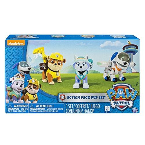 La Pata Patrol - 6026091 - 3 Pack Figuras Mochila Transformables - La Patrulla de la Pata