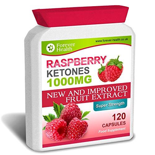 Raspberry Ketone PURE STARKEN Diätpillen PUR 1000mg 120 Kapseln - Verlieren Sie Bis 5 Kilos in 4 Wochen ! Unglaubliche Fettverbrennung ! * Gratis Diät Plan * Raspberry Ketones - Abnehmen Diät Pillen Himbeer Keton PUR - 120 x Diät Tabletten
