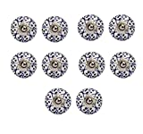 #7: Amber Shine Ceramic Door Knobs Handpainted & Decorative/ Door Handles/ Cabinet/ Drawer / Door Pulls/ Cabinet Pulls/ Drawer Pulls (Set of 10)