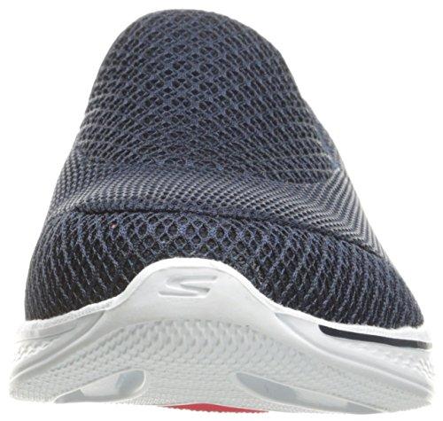 Skechers Go Walk 4 Propel, Baskets Basses Femme Bleu Marine