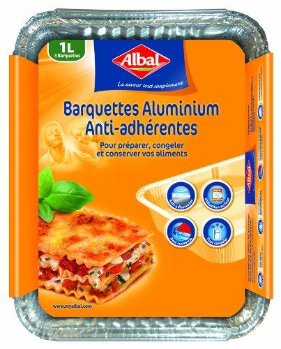 albal-4008871204035-3-barquettes-aluminium-1-l-congelation-cuisson-conservation-lot-de-2