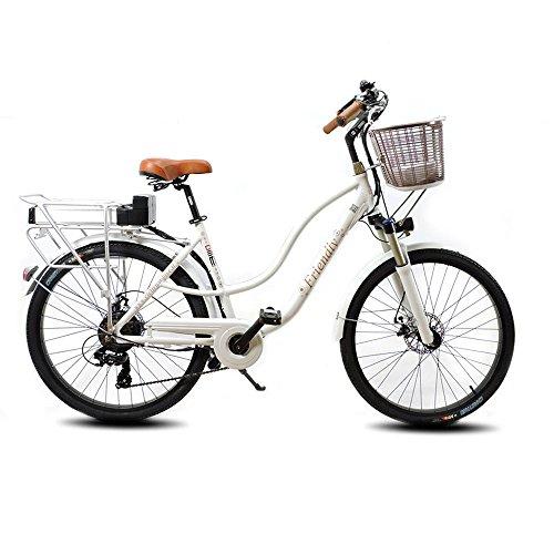 Bicicletta Elettrica Da Passeggio A Pedalata Assistita 26 250w Dme