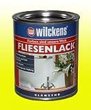 FLIESENLACK GLÄNZEND 750ml WEISS RAL 9010 Fliesenfarbe Lack