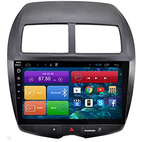 Top Navi da 10.1 1024 * 600 Android 4.4 PC Auto Player per Mitsubishi