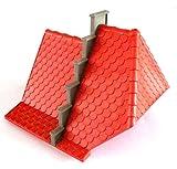 AF-609 playmobil ® Ritter Burg - rotes x System Dach ca. 19 x 19 x 18 zu 3268