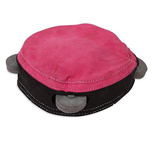 muttnation-tambourine-plush-faux-suede-body-felt-cymbals-squeaker-dog-fun-toy