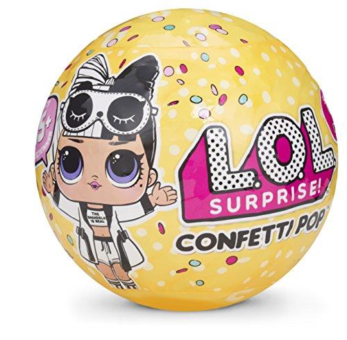 L.O.L Surprise! Muñecas, muñecas coleccionables Que Vienen en Huevos Sorpresa con Confeti, Serie 3