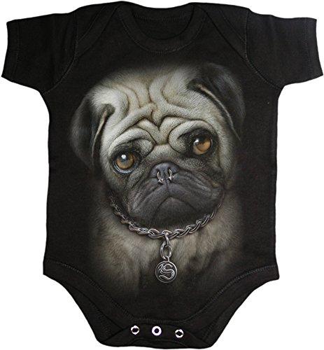 Spiral -  Body  - Bebè maschietto nero X-Small