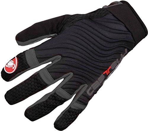 Castelli - CW 6.0 Cross Glove, Color Negro,Gris, Talla M