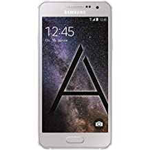 "Samsung Galaxy A3 - Smartphone libre Android (pantalla 4.5"", cámara 8 Mp, 16 GB, Quad-Core 1.2 GHz, 1.5 GB RAM), plateado (importado de Alemania)"