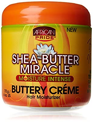 African Pride Shea Butter Miracle Crème Hair Moisturizer 170 g by African Pride