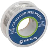 Mercury Haute Qualite Cordon Free Soudure 100 g Roll 1,00 mm 15 m