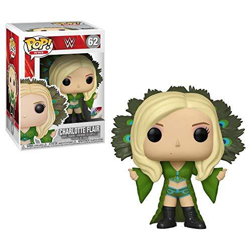 Funko- Pop Vinilo: WWE: Charlotte Flair Figura Coleccionable, Multicolor (38066)