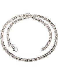 6mm rund Königskette, 925 Silber , wählbar von Länge 40-100cm