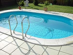 Pool Schwimmbecken Oval Ovalpool 6,23 x 3,60 x 1,50m IH 0,6mm