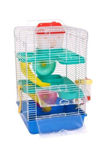 Liberta Virgo II Hamsterkäfig, Größe M, 41x 24x 24cm