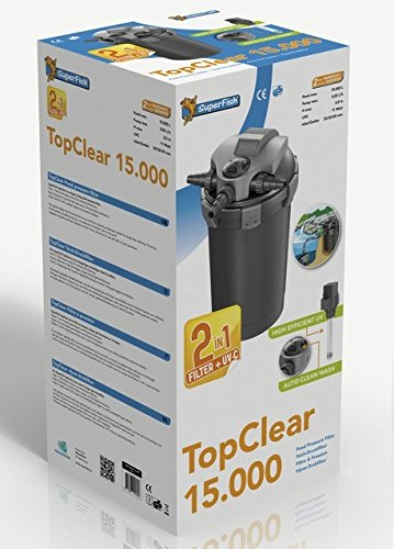 SF Druckfilter Set Top Clear 15000 inkl. Pumpe