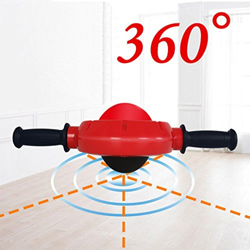 AB Roller, Verbessert 360° Bauchtrainer mit Komfortgriffen Bauchmuskeltrainer by huichang