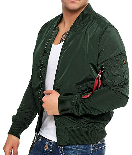 Alpha Industries MA-1 TT Fliegerjacke Dark Petrol