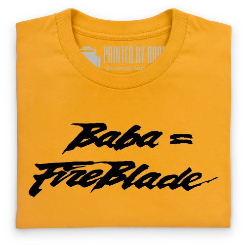 Fireblade T-Shirt, Herren Gelb