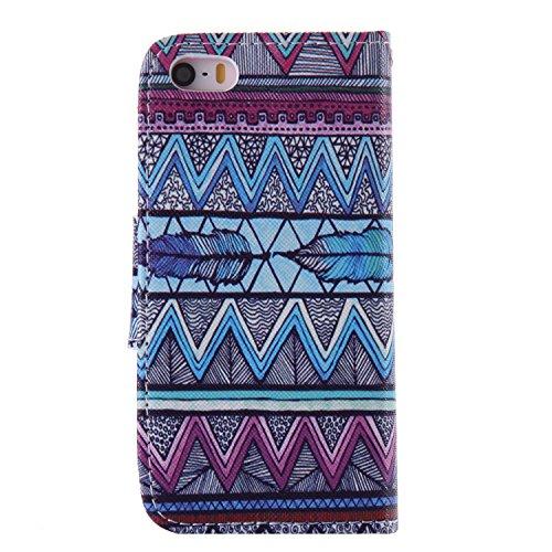PU Silikon Schutzhülle Handyhülle Painted pc case cover hülle Handy-Fall-Haut Shell Abdeckungen für Smartphone Apple iPhone 5 5S SE +Staubstecker (11LC) 6
