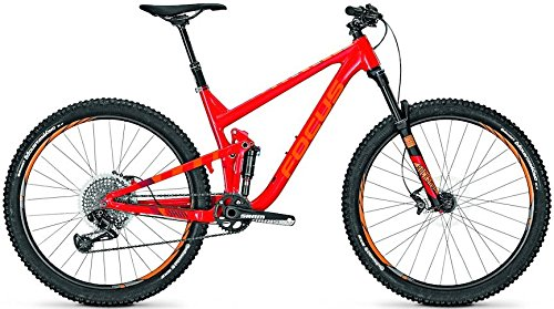 Focus JAM Lite 27.5R Enduro/All Mountain Bike 2017 (Rot, L/47cm)