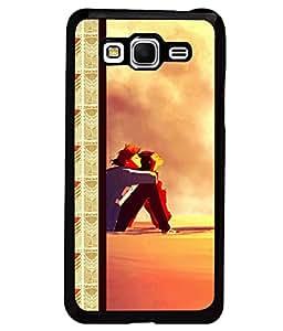Printvisa 2D Printed Couple Designer back case cover for Samsung Galaxy Grand Prime SM - G530H - D4347