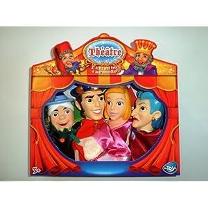 Mon théâtre et mes 4 marionnettes Cendrillon – 113898B