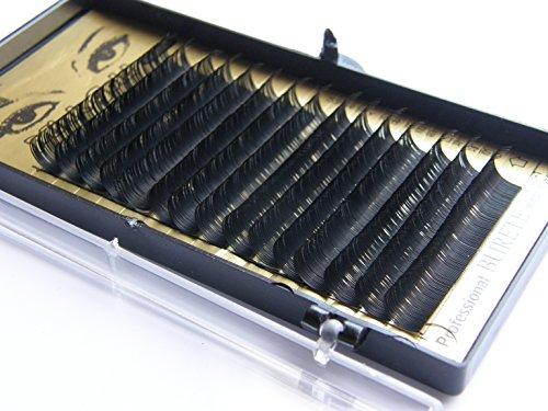 Mink or cils - cils de qualité professionnelle, des cils clin styliste alternatifs, C Curl 0.2mm avec une longueur de 12mm, les cils de vison de haute qualité pour l'extension des cils!