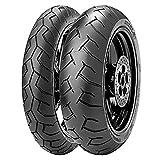 Paire Pneu pneus Pirelli Diablo 120/70ZR 1758W 180/55ZR 1773W
