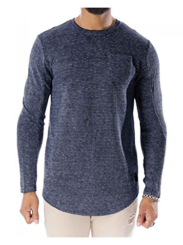 Project X Paris Herren Pullover Blau