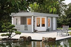 Gartenhaus Maja 40-B2 mit Terrasse