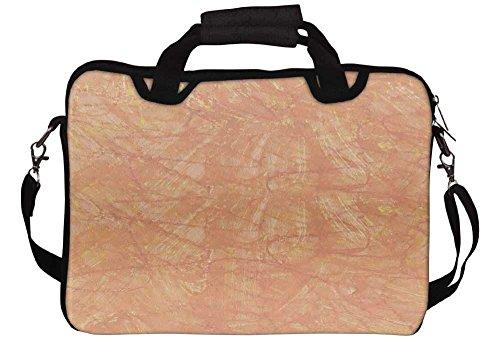 Snoogg Wand Aufkleber Laptop Netbook Computer Tablet PC Schulter Case mit Sleeve Tasche Halter für Apple iPad/HP TouchPad Mini 210/Acer Aspire One und die meisten 24,6cm 25,4cm 25,7cm 25,9cm Zoll Netbook Tablet PC (Laptop-aufkleber Für Hp)