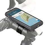 QuickMOUNT iPhone XS / X Fahrrad Halterung, Lenker / Vorbau Befestigung mit Rain Case Schutzhülle für Apple iPhone X / XS MTB Rennrad Motorrad Navigation (5,8 Zoll, schwarz)