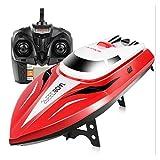 Telecomando RC Boats, Syma Q2 Barche elettriche Racing Boats Powered Giocattoli Modelli Navi Vela Giocattolo Rosso, by Togather