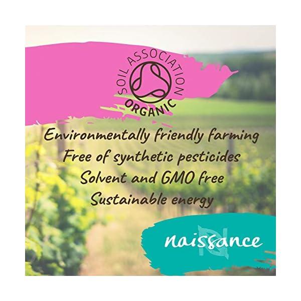 Naissance Aceite de Ricino BIO 100ml – Puro, natural, certificado ecológico, prensado en frío, vegano, sin hexano, no…