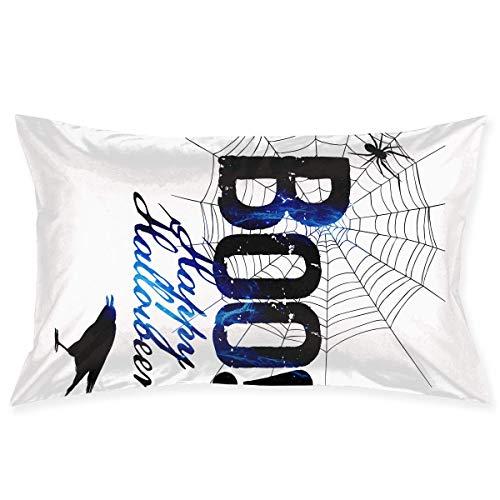 lloween Free Printable Kopfkissenbezüge Decorative Pillow Covers Soft and Cozy, Standard Size 20