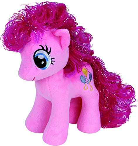 TY 41000 - My Little Pony Baby - Schmusetier Pinkie Pie, 15 cm