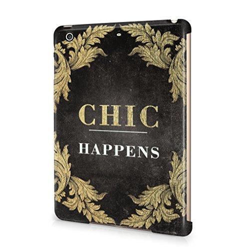 Maceste Chic Happens Kompatibel mit Apple iPad Mini 2 / iPad Mini 3 SnapOn Hard Plastic Tablet Protective Fall Handyhülle Case Cover