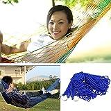 skysc Indoor Outdoor Swing Nylon Stoff Hängematte Mesh Net Aufhängen stark dicker Seil