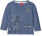 s.Oliver Baby-Jungen Spieler T-Shirt Langarm, Blau (Blue Multicolored Stripes 53S1), 86