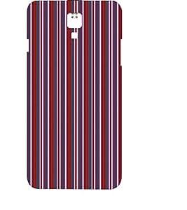 EPICCASE velvet stripes Mobile Back Case Cover For LG X Power (Designer Case)