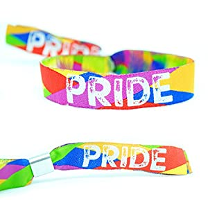 Gay Pride Armbänder ~ Gay Pride Wristband Armband - Gay Pride Parade Berlin Accessories Zubehör