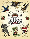 Malbuch Tattoo