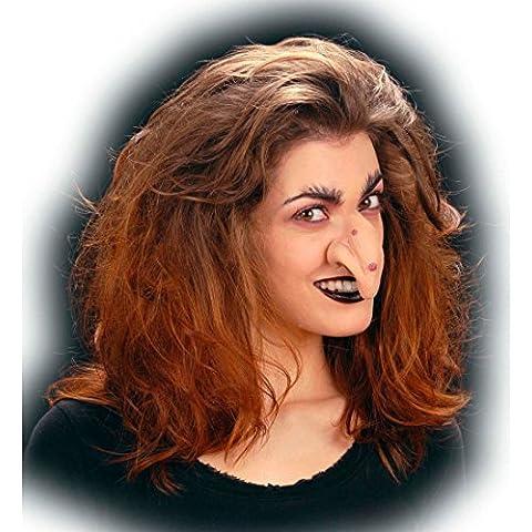 Nariz de bruja efectos especiales maquillaje látex halloween